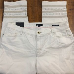 Tommy Hilfiger Womens Greenwich Straight  Jeans
